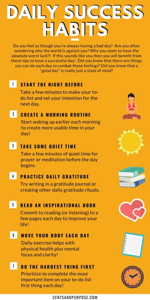 How to have a sucessful day