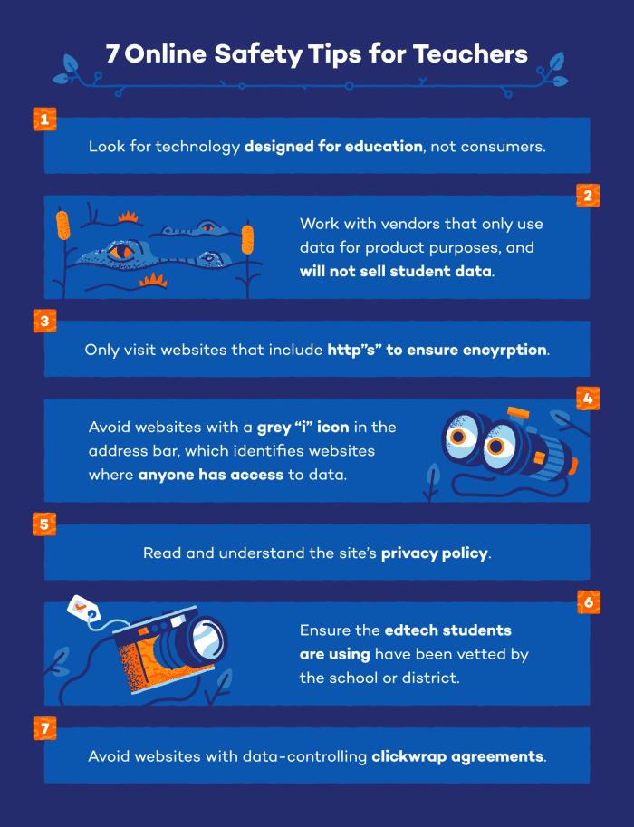 Online Safety Tips For Teachers